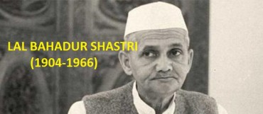Contest Article 4: Lal Bahadur Shastri (1904-1966)