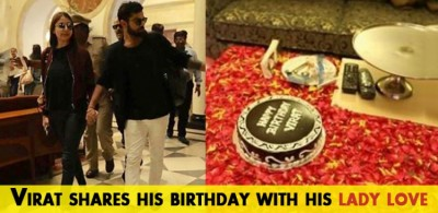 Virat shares his birthday with his lady love