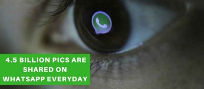 4.5 Billion Pictures Are Shared on WhatsApp Everyday