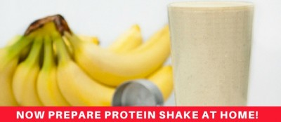 Simplest Way To Make Homemade Protein Shake, See The Recipe
