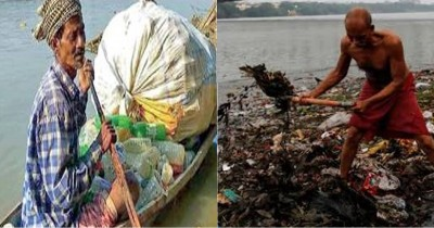 West Bengal: The Fisherman Who Clears Plastic Waste from the Ganga
