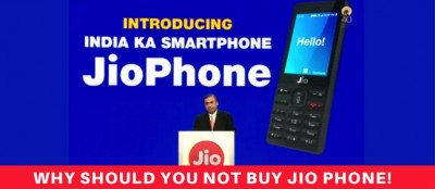 Why Should You Not Buy Jio Phone!