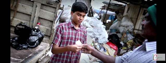 Watch to know How a boy turns Rs 5 to Rs138 - Ambani the investor