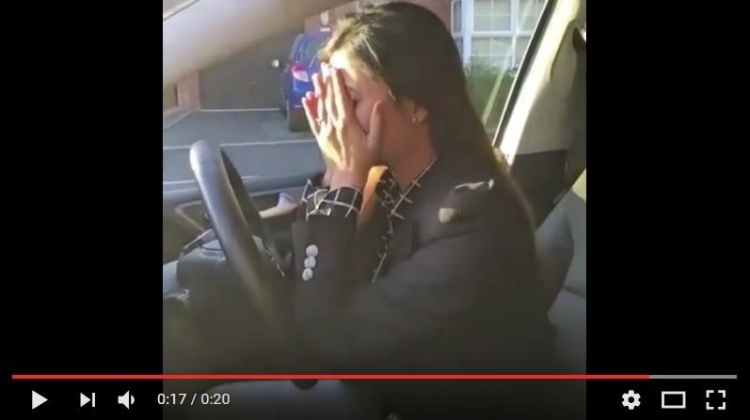 A Woman Driver was asked a Serious Question - Watch her answer