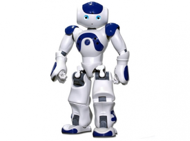 software engineer vijay develops humanoid robot which will help customers in banks