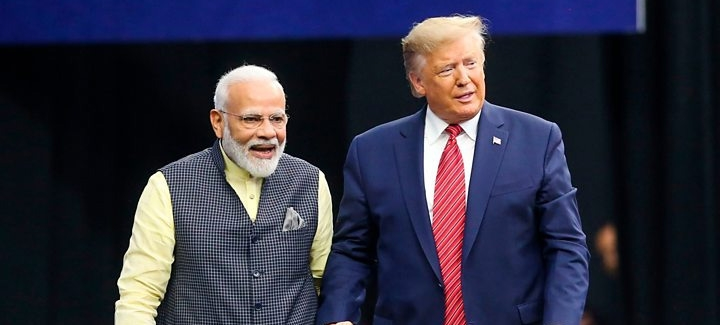 'Howdy, Modi!': Trump Attends Indian PM's Historic Rally In Houst